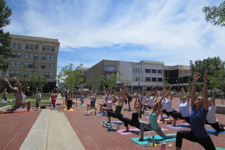 Yoga at Park Central Square